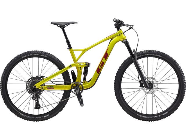 "GT Bicycles Sensor Carbon Elite 29"", gloss limegold"